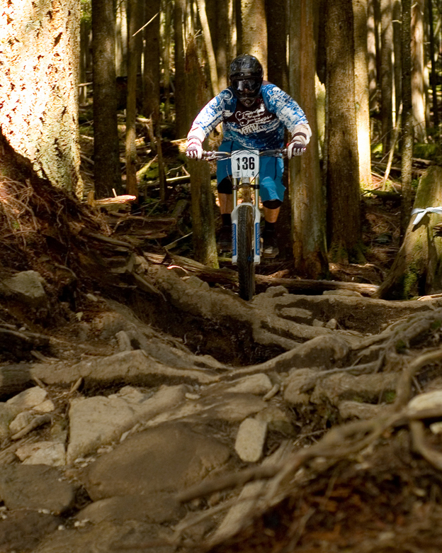north shore bike fest 09 smackdown dh dave mackie