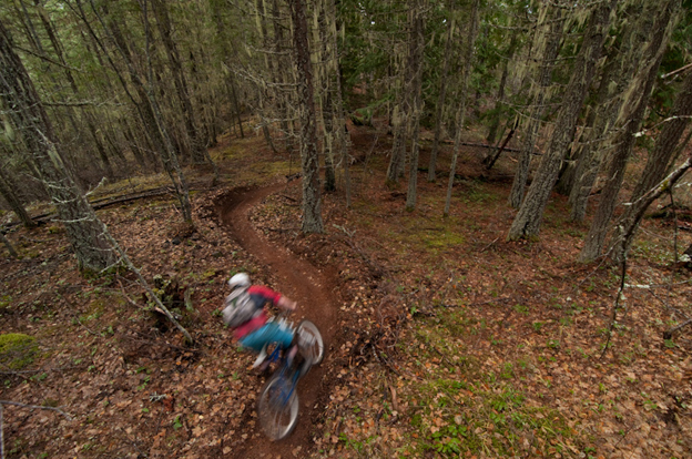 riley mcintosh, high terrain    helicopters, heli biking,  nelson,  slocan valley, powerslave