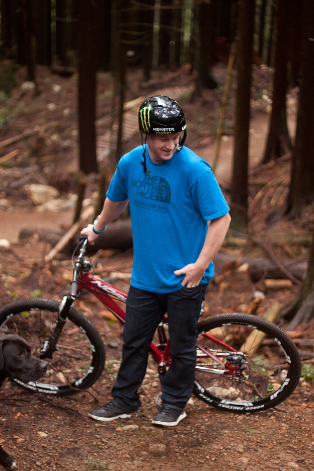 mike hopkins norco factory team 2012 freeride mtb mountain bike north shore nsmb
