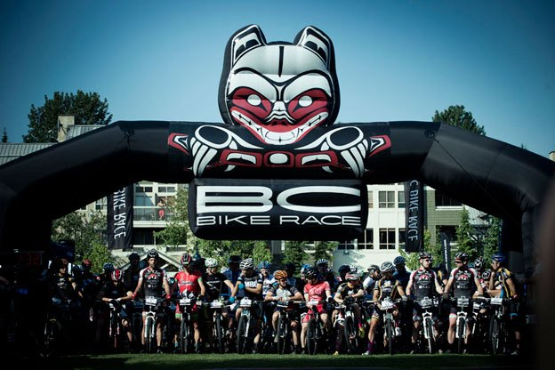 BCBR's famous BOB (Bear on a Bike) graces the Start/Finish arch and has been an iconic part of the race since its first year.