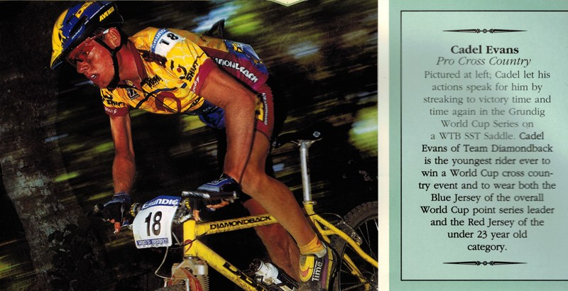 Cadel-Close-Up-from-Grundig-1997-World-Cup-XC-with-SST---1998-WTB-Product-Guide