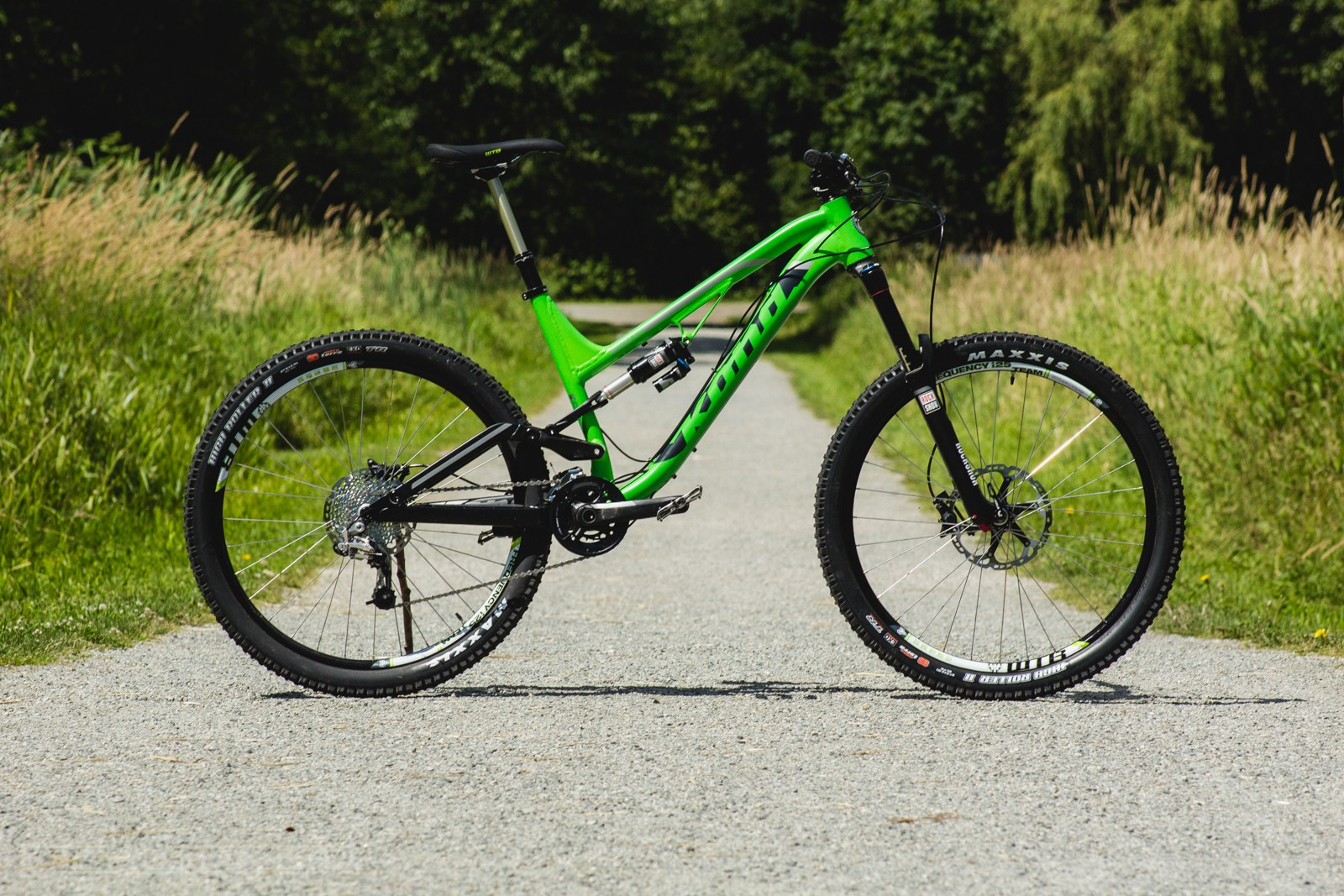 The 2014 Kona Process 153A in all its green glory...