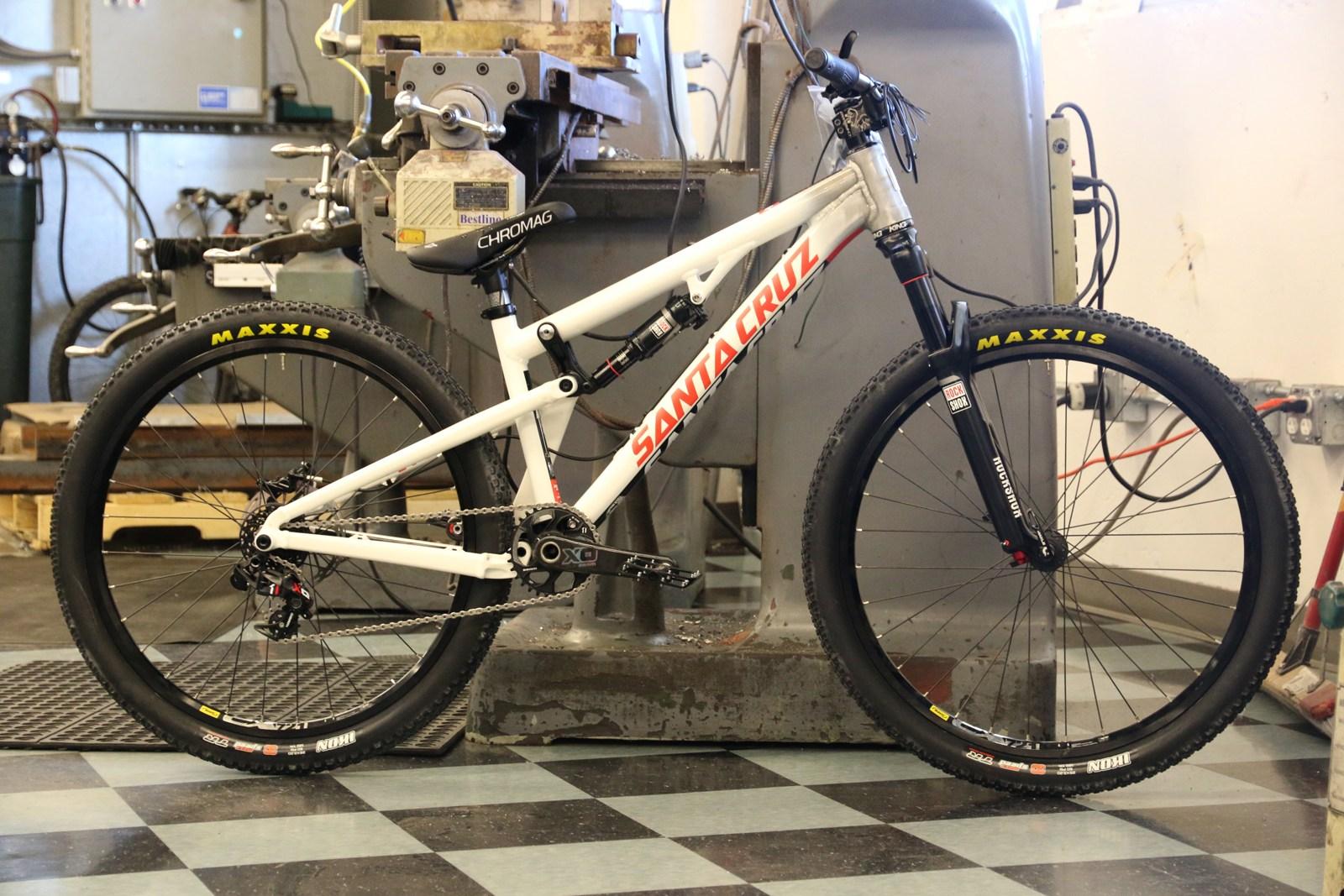 Logan Peat S New Santa Cruz Slope Bike