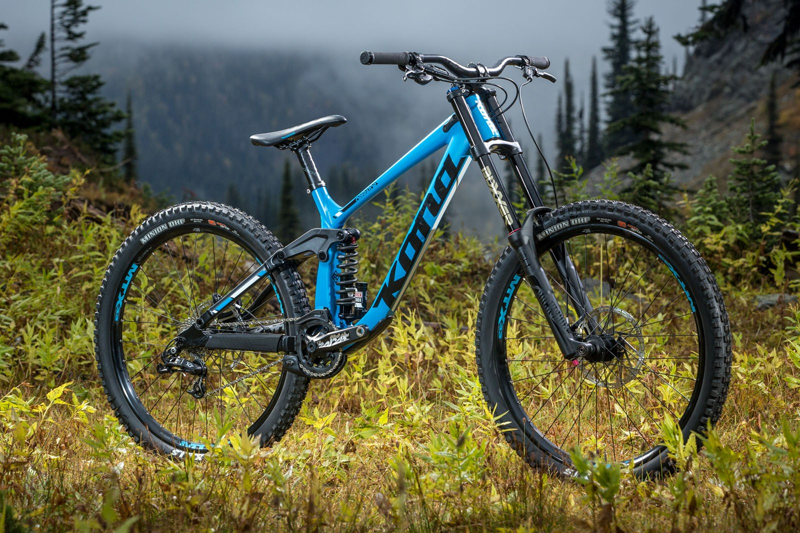 92957dcdd90 The base model 2017 Kona Operator. For a price point bike, it appears to  have a well thought out build spec, and looks good in the flesh