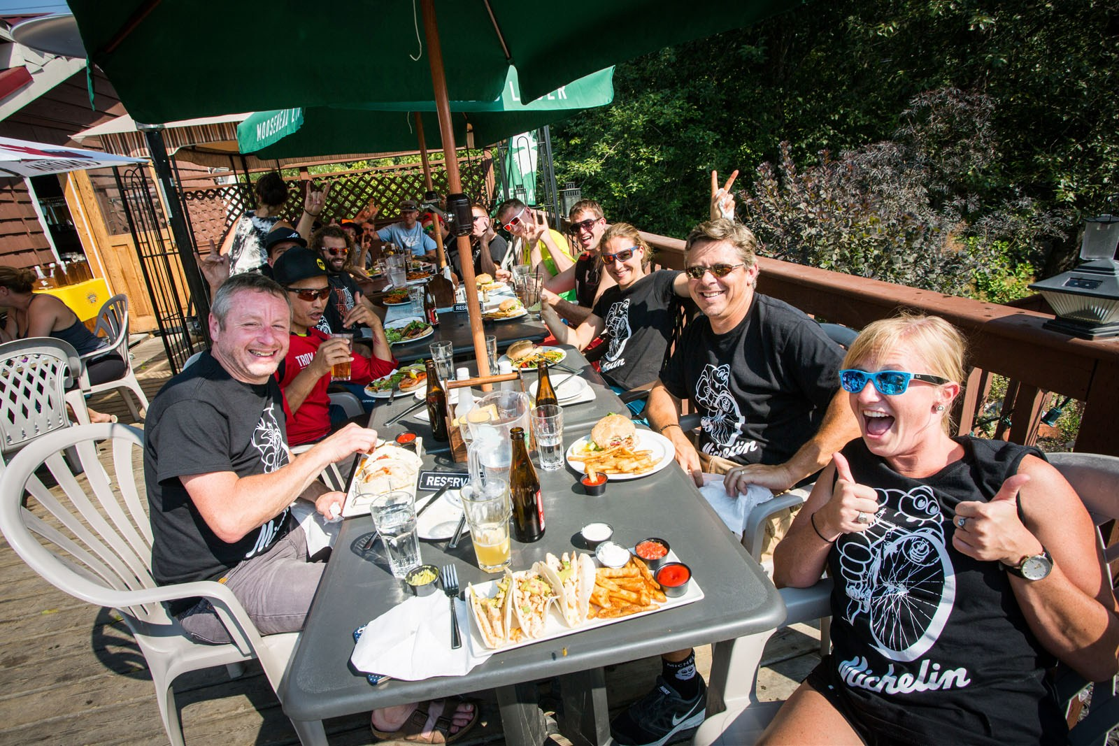 The Watershed Bar and Grill in Squamish was a great way to wrap up the ride. Thanks to Michelin for a fun and educational day.