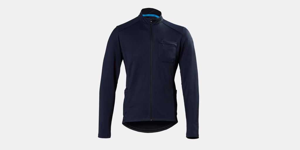 Kitsbow's Long Sleeve AM jersey sure would have come in handy as a middle layer during our recent cold snap, but otherwise would be the ideal outer layer between October and May on the coast.