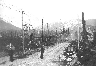 LV Rd at Centre 1911