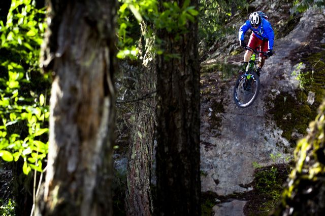 Paul Stevens, NSMB Team, Mason Mashon Photo, Arbutus Routes, Enduro, race, mountain bike