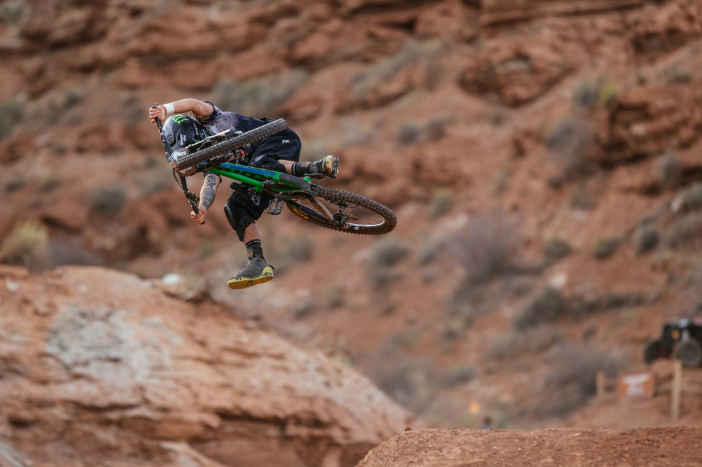 Arguably the most stylish rider at Rampage, and a fan favorite because of it.