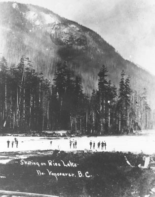 Rice Lake skating 1911