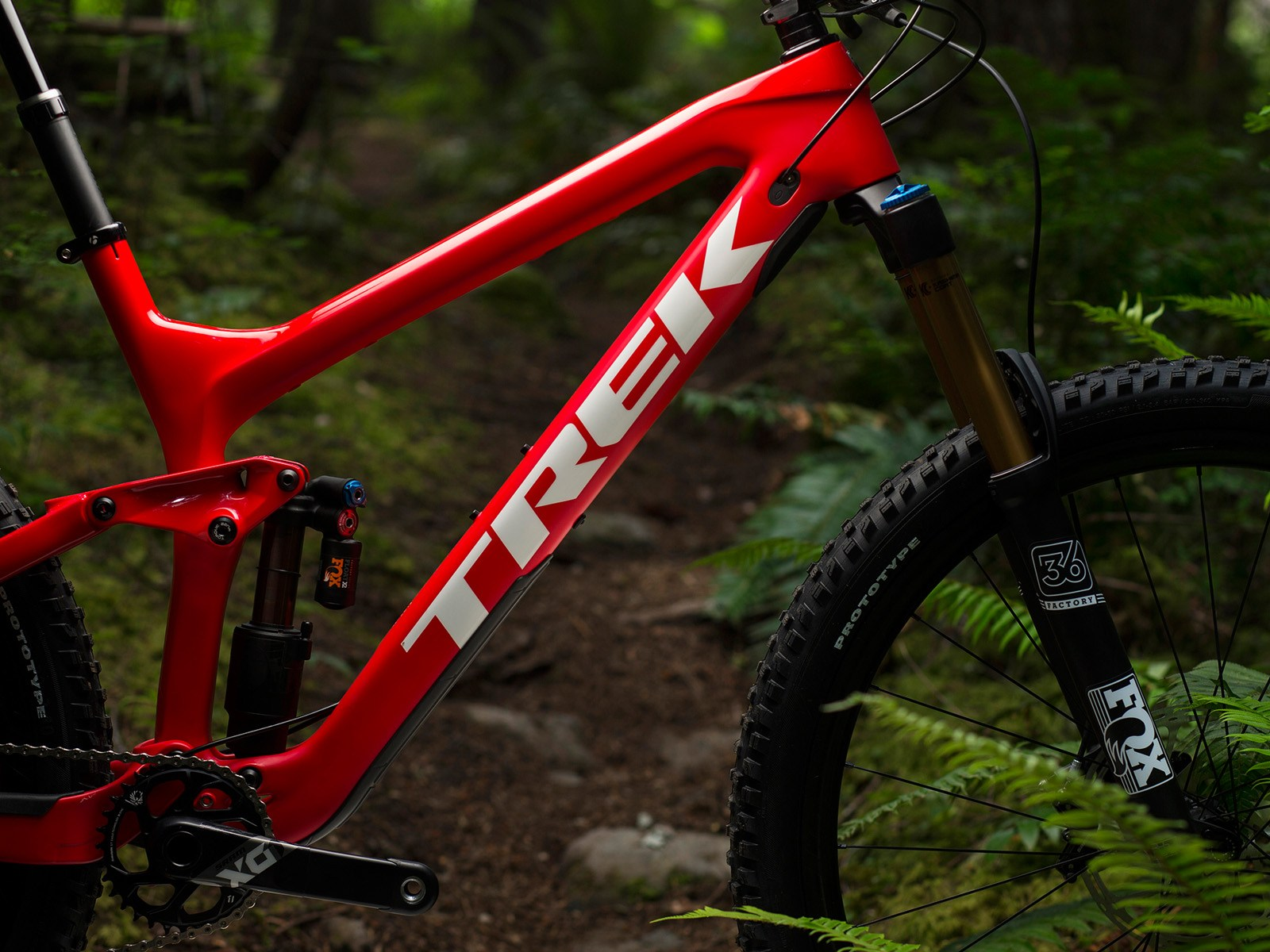 9122cdc385c The Slash 29 features the same straight shot down tube as the recently  announced Remedy and Fuel EX. Trek Slash 9.9 in Squamish ...