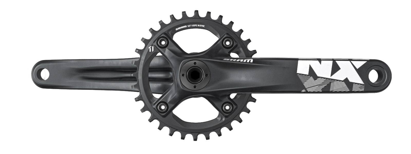 SRAM_MTB_NX_Crank_1000_32T_AL_Spider_30mm_Side_Black_M