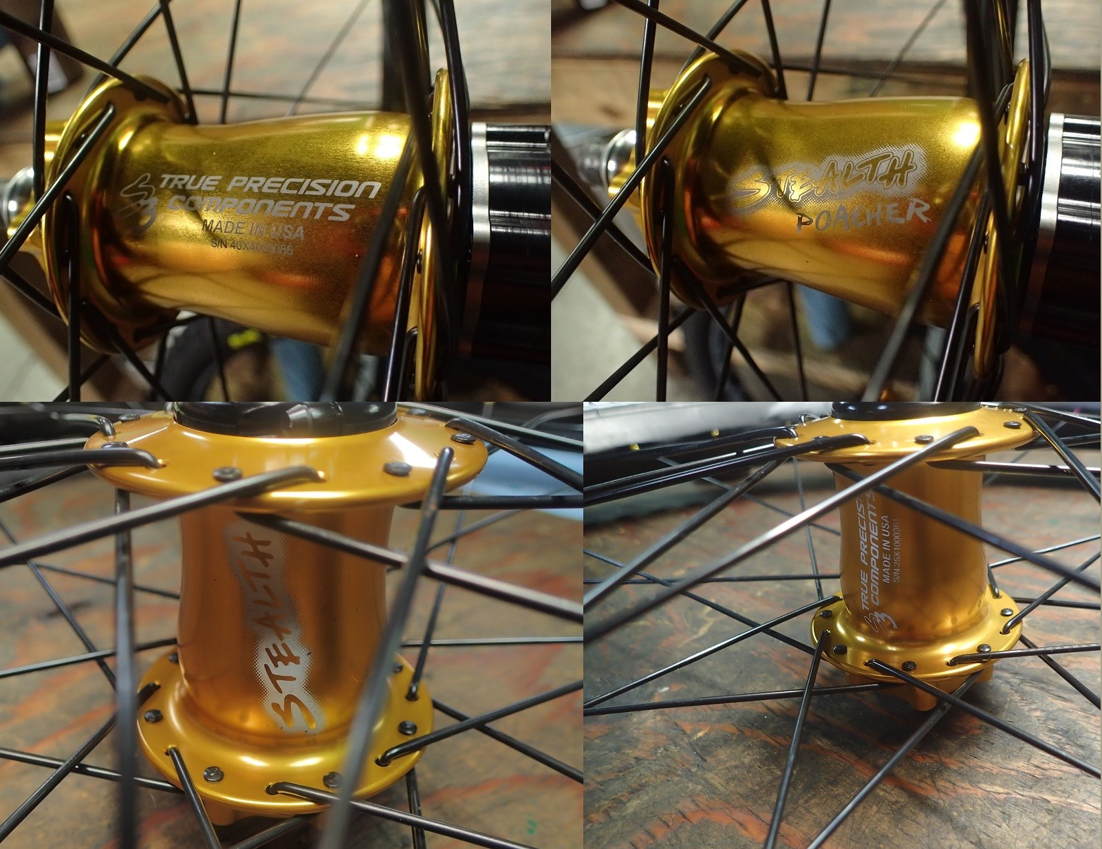 True Precision Stealth Hubs