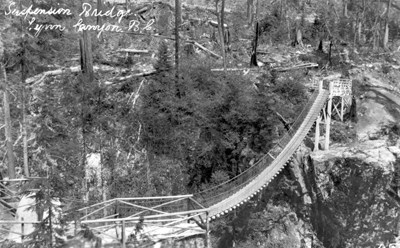 Suspension Bridge 1910