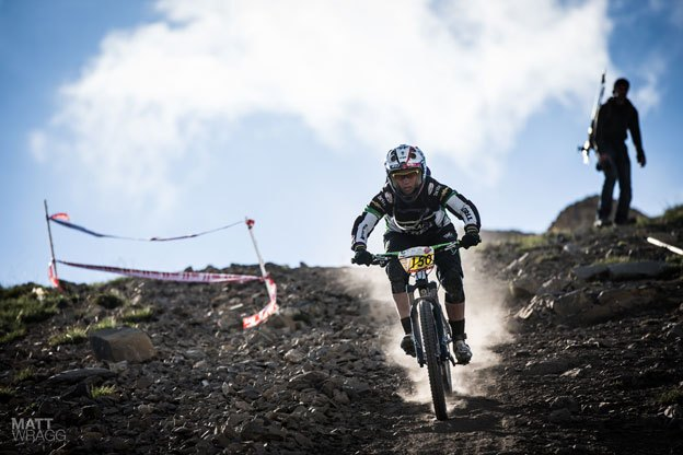 Moseley was the quickest of the women in les Deux Alpes, France.