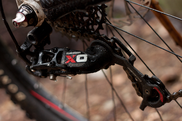 Sram X0 2011 nsmb whistler product review test 10-speed morgan taylor