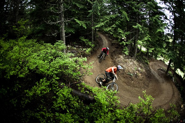 2013 bike park access limits will mean beginners only for B Line on weekends.