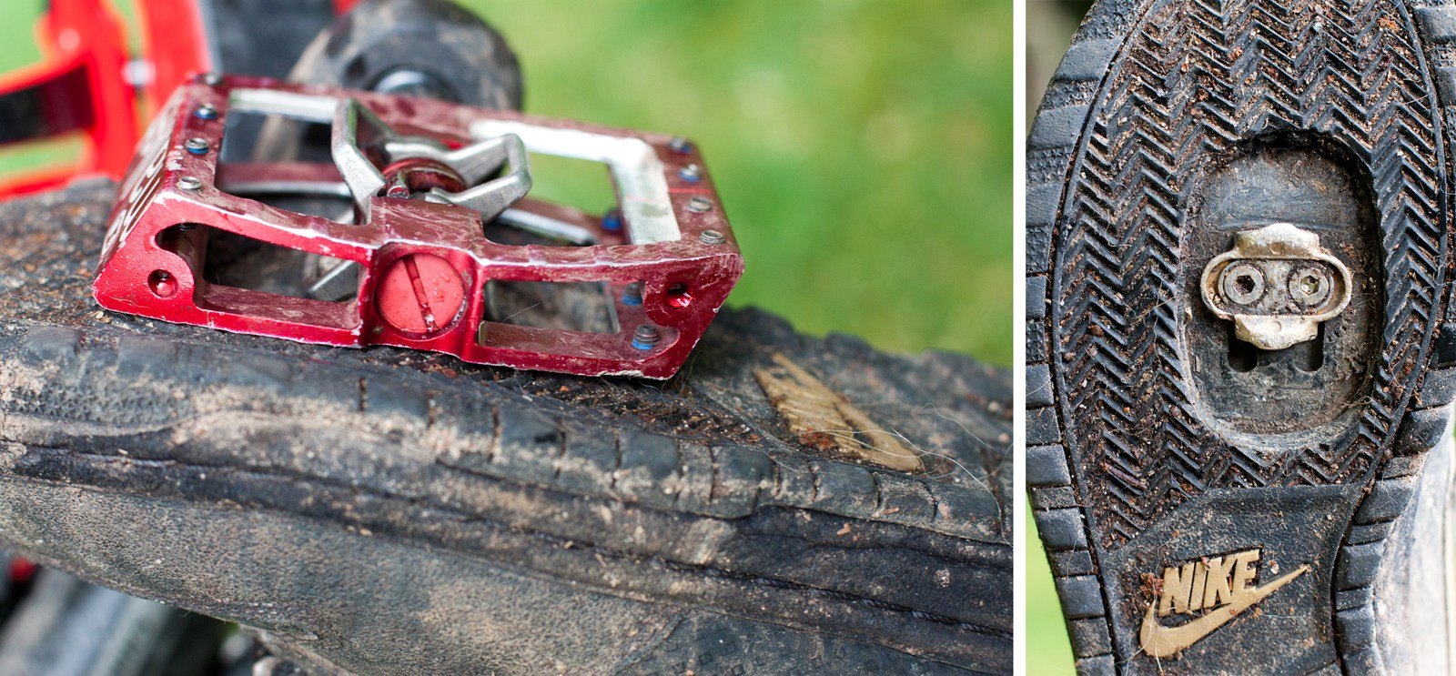 Crank Brothers Mallet DH Race DHRace pedal review NSMB mountain bike downhill clipless spd