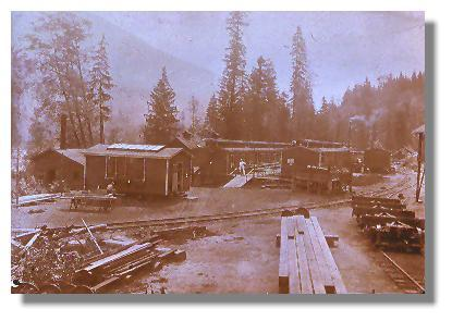 logging camp 1925