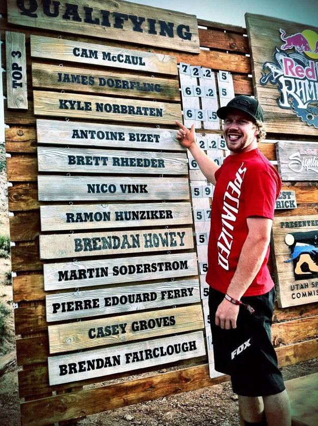 Red Bull Rampage 2012 Qualifying Results