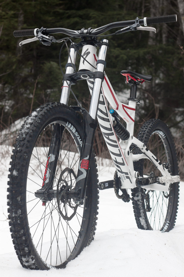 Specialized Status II 2 Gear Review nsmb north shore mountain bike freeride downhill whistler park bike