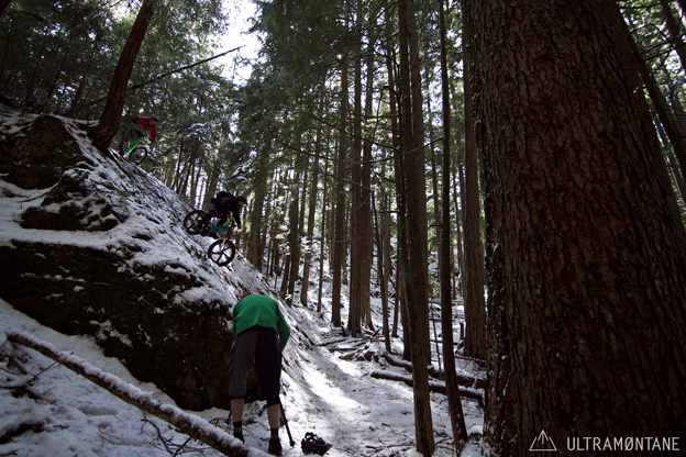 Ultramontane No. 06 Connor Macleod Derek Dix North Shore winter mountain bike freeride DH campvibes